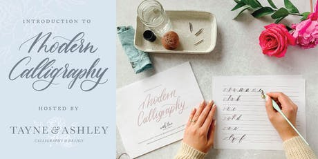 Intro to Modern Calligraphy - Pointed pen tickets
