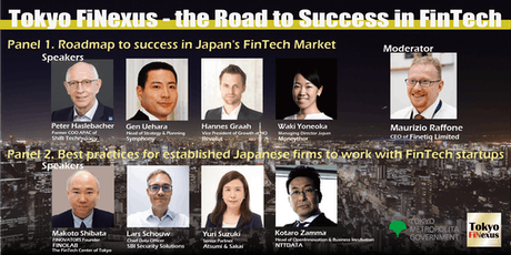 Tokyo FiNexus - the Road to Success in FinTech tickets