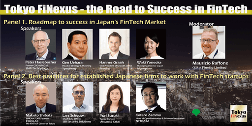 Tokyo FiNexus - the Road to Success in FinTech