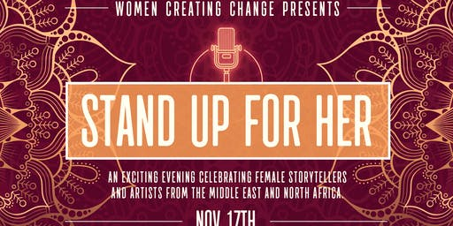 "Women Creating Change Presents ""Stand Up for Her"""