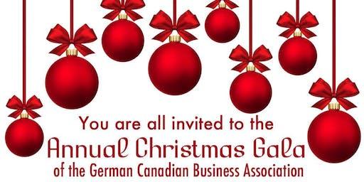 German Canadian Business Association Christmas Gala