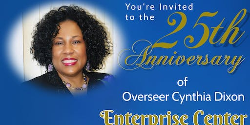 25th Ministerial Anniversary Celebration - Cynthia Dixon