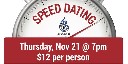Sparge Speed Dating