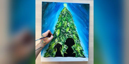 2 for 1 Canvas: Christmas Paint! Pasadena, Greene Turtle with Artist Katie Detrich!