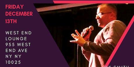 James Dean Rivera Spoken Word at West End Lounge  tickets