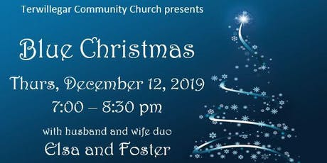 Terwillegar Community Church Blue Christmas tickets