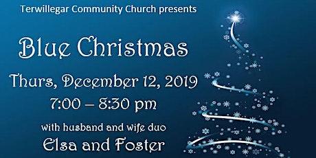 Terwillegar Community Church Blue Christmas tickets