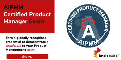 AIPMM Product Management Certification - Sydney tickets