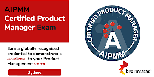 AIPMM Product Management Certification - Sydney