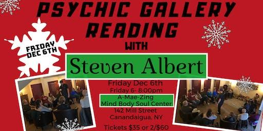 Steven Albert: Psychic Gallery Event - A-Mae-Zing12/6