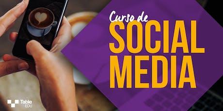 Curso de Social Media tickets