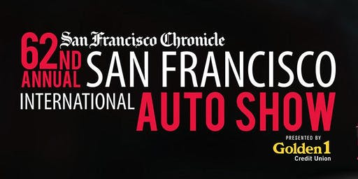 62nd Annual San Francisco International Auto Show:  Nov. 28 - Dec. 2, 2019