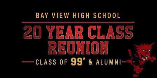 BAY VIEW 20 YEAR CLASS REUNION