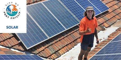 Port Phillip Solar Program Information Session tickets