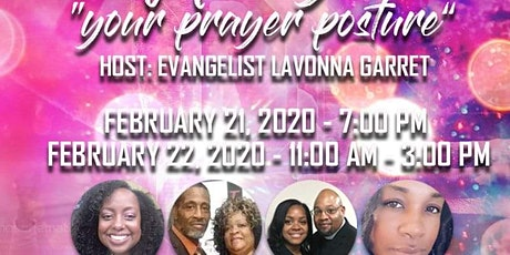 DNA of Prayer; Your Prayer Posture tickets
