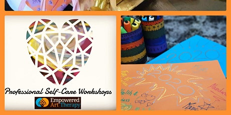 SELF CARE & ART THERAPY for PROFESSIONALS - New Year Vision Workshop tickets