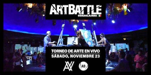 Art Battle Guadalajara - 23 de noviembre, 2019