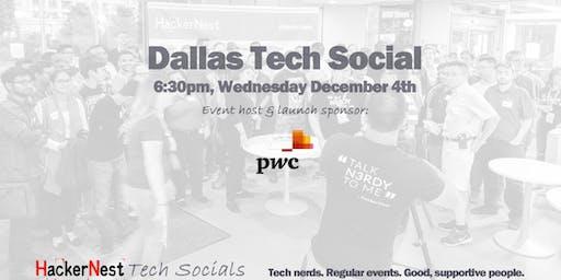 Dallas December Tech Social Launch Event @ PwC