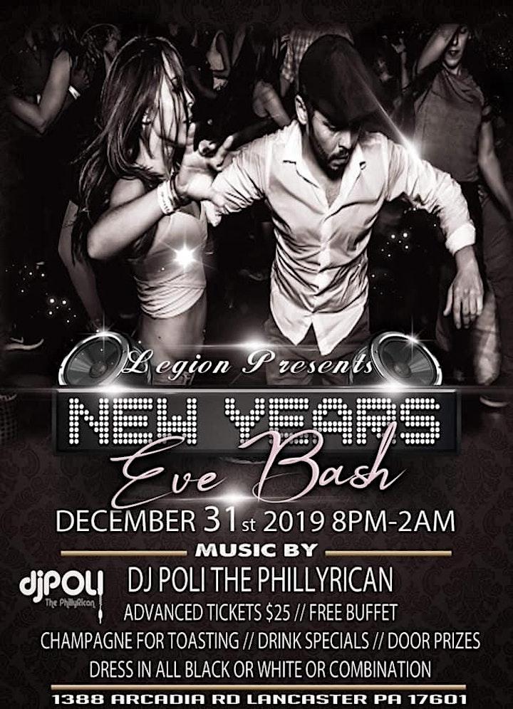 New Year's Eve Black & White Extravaganza W/DJ Pol image
