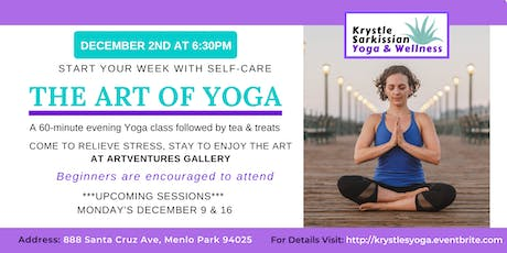 The Art of Yoga (12/9) tickets