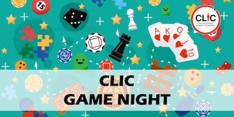 CLIC Game Night boletos