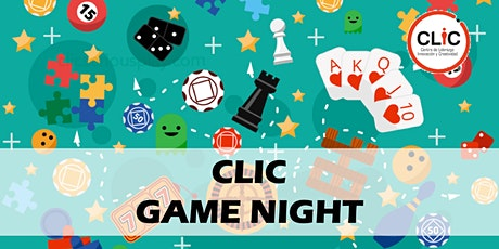 CLIC Game Night boletos