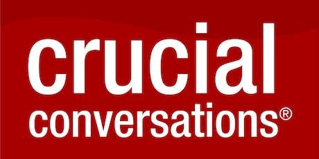 Crucial Conversations Training - Sydney tickets