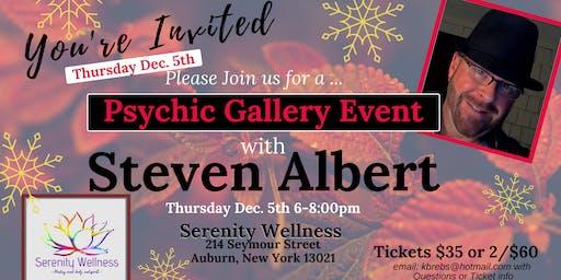 Steven Albert: Psychic Gallery Event - Serenity12/5