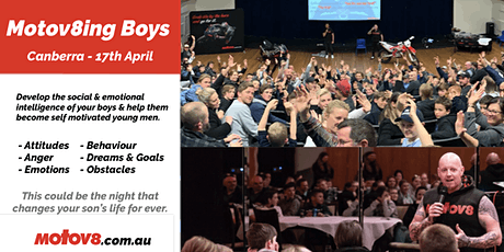 Motov8ing Boys - Canberra tickets