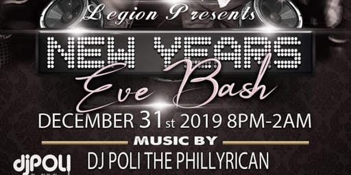 New Year's Eve Black & White Extravaganza W/DJ Pol