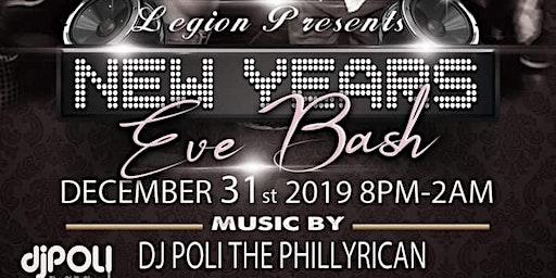 New Year's Eve Black & White Extravaganza W/DJ Pol