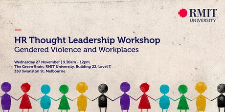 HR Thought Leadership Workshop - Gendered Violence and Workplaces tickets