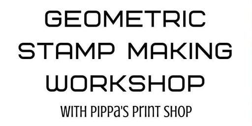 Geometric Stamp Making Workshop