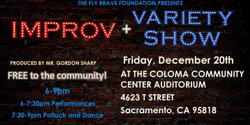 Improv and Variety Show, starring artists on the Autism Spectrum