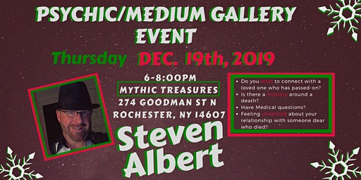 Steven Albert: Psychic Gallery Event - Mythic Treasures 12/19