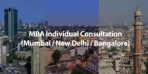 CUHK MBA Individual Consultation in Mumbai/New Delhi/Bangalore