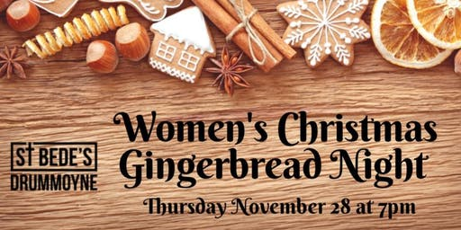 Women's Christmas Gingerbread Night