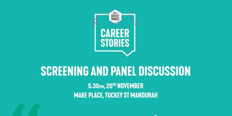 Launch of Peel Bright Minds Career Stories screening
