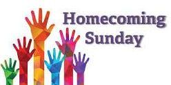 Homecoming Sunday November 17 10:30am
