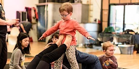 Family Acrobatics: Kids ages 2-8 with parent participation tickets
