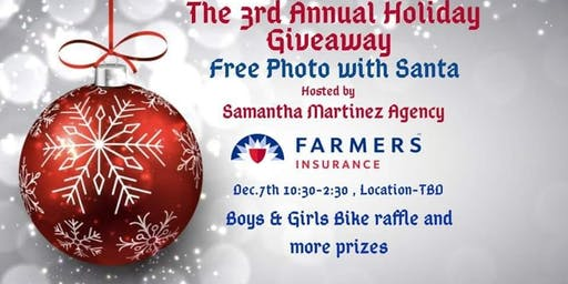 2nd Batch of tickets  3rd Annual Free Picture WITH SANTA