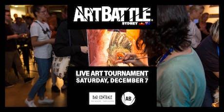 Art Battle Sydney: Campbelltown Edition - 7 December, 2019 tickets