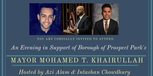 An Evening in Support of Mayor Mohamed T. Khairullah
