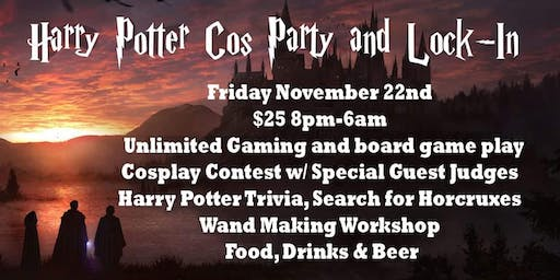 Harry Potter Trivia Party & Lock-In
