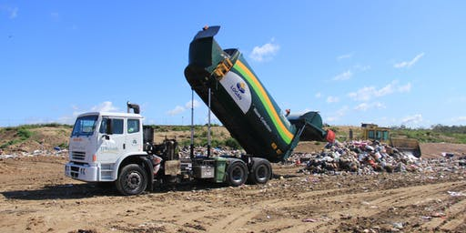 Landfill tours of the Browns Plains Waste & Recycling Facility