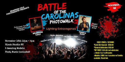 Battle of the Carolinas Photowalk with Portrait Photographer Brandon Cole