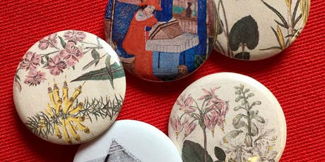 Badge Making Bliss: Wallsend Library tickets