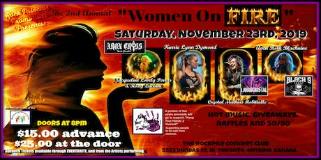 The 2nd Annual, Women on Fire tickets