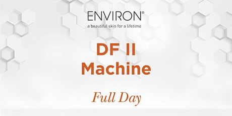 VIC Environ Education : DF Machine Training tickets