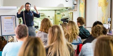 Stories of Inspiration - Spoken Word - donderdag 19 december - Groningen tickets